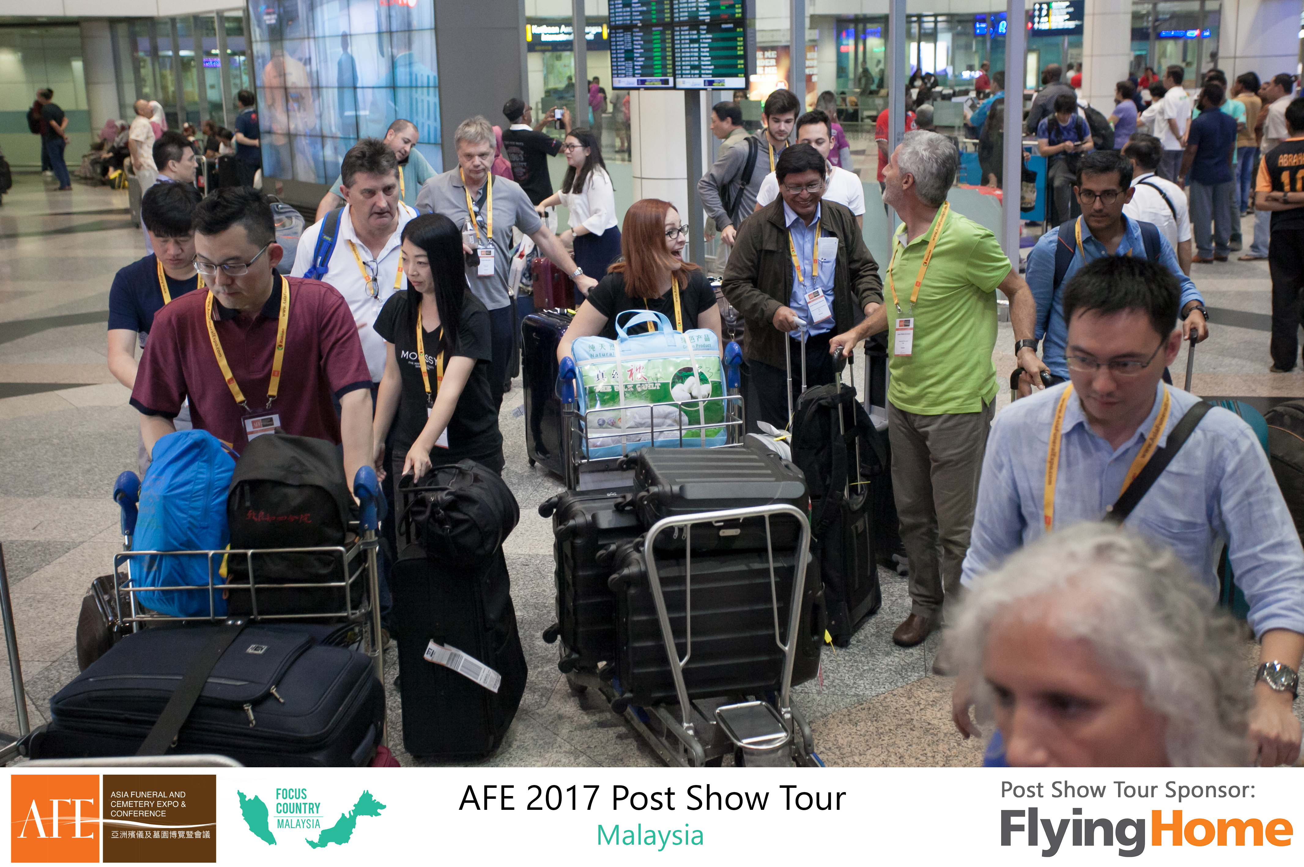 AFE Post Show Tour 2017 Day 1 - 06