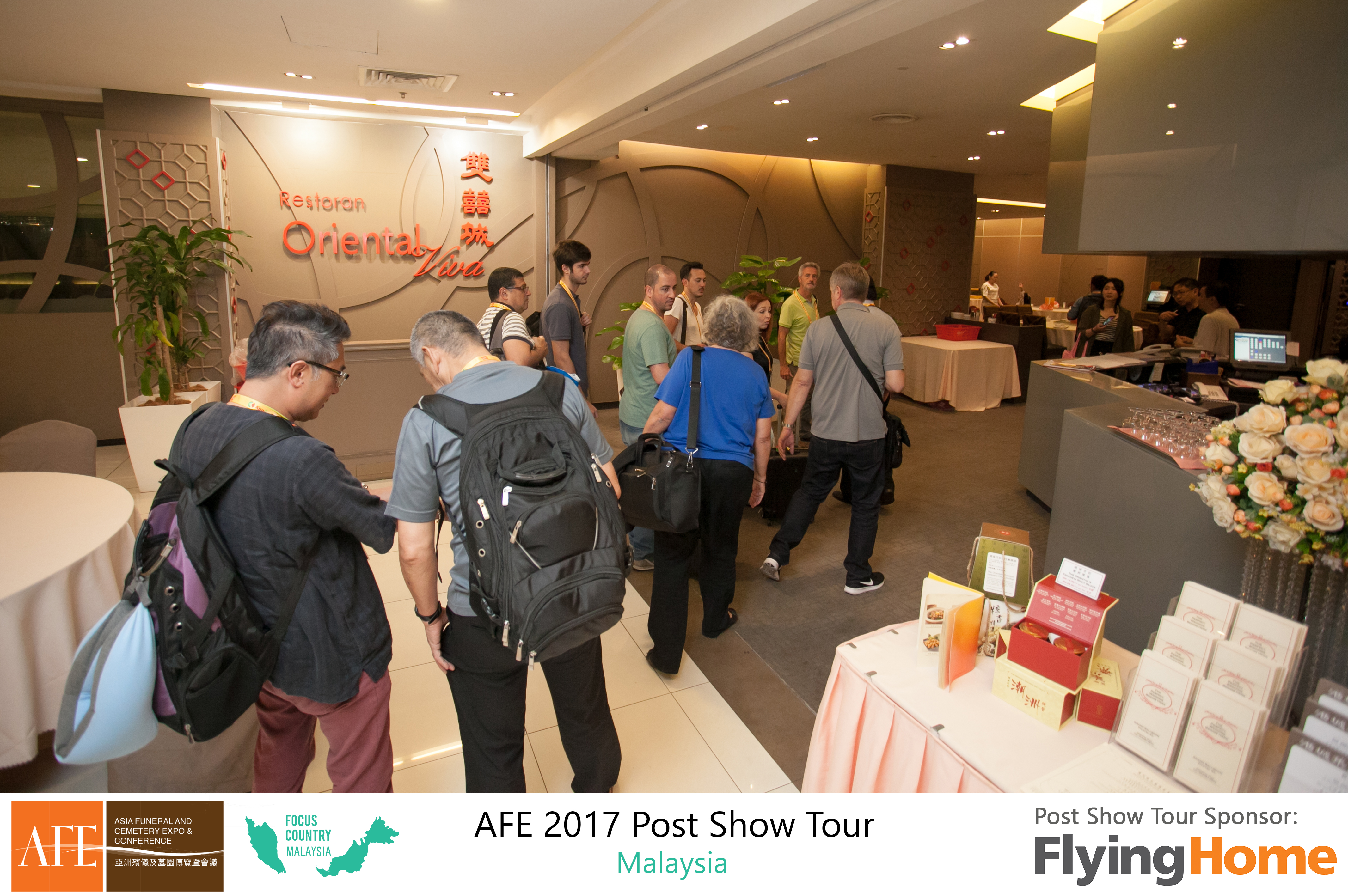 AFE Post Show Tour 2017 Day 1 - 08