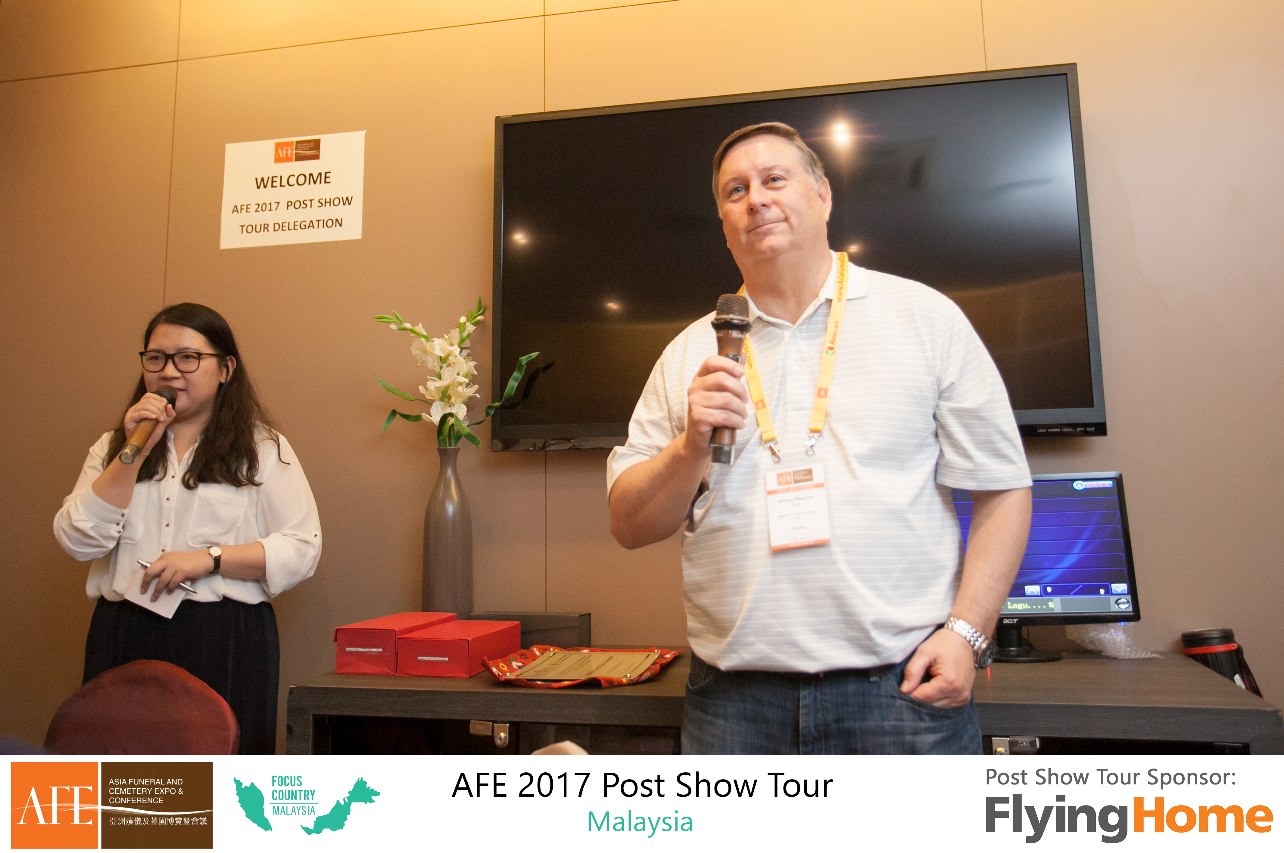 AFE Post Show Tour 2017 Day 1 - 13