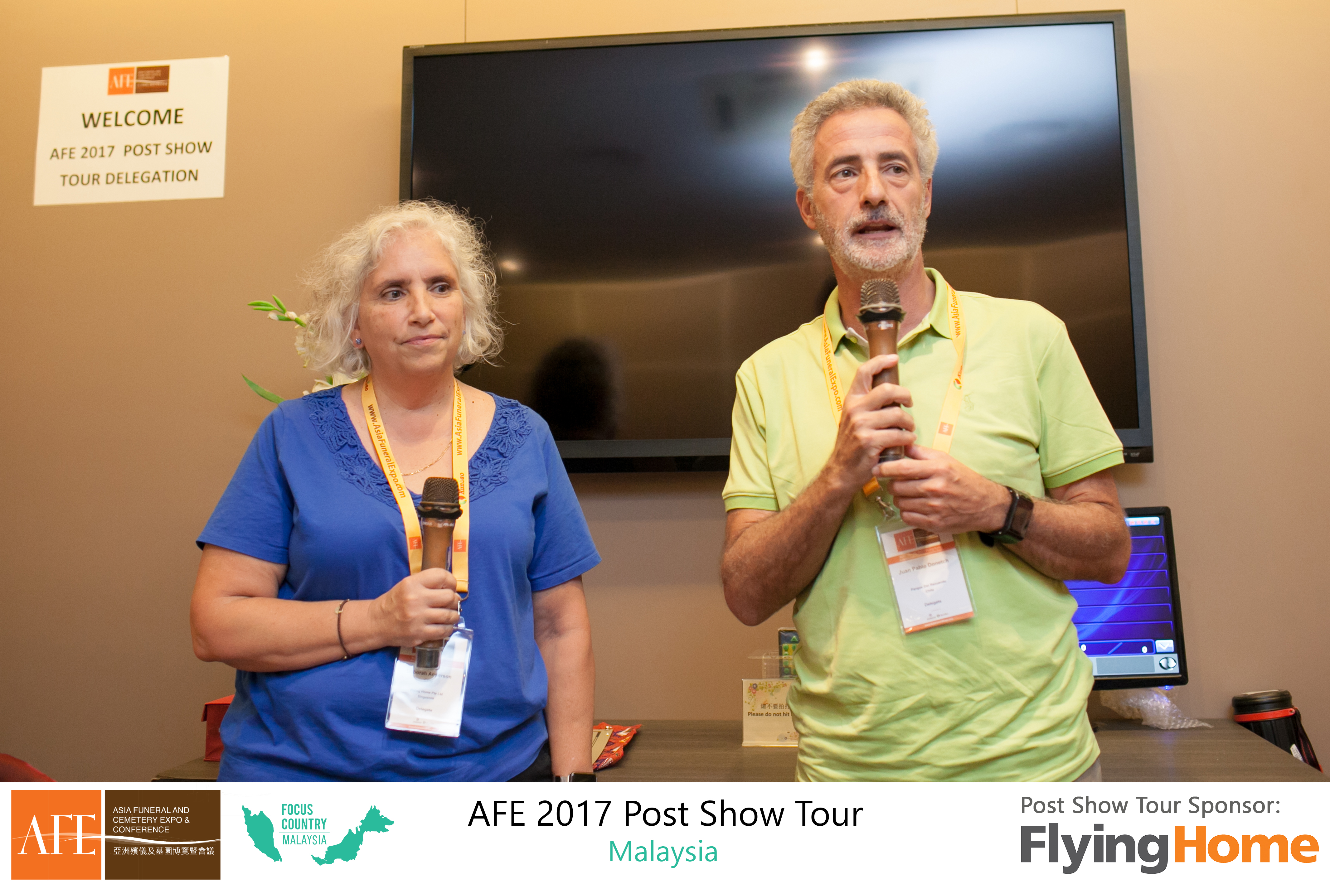 AFE Post Show Tour 2017 Day 1 - 15