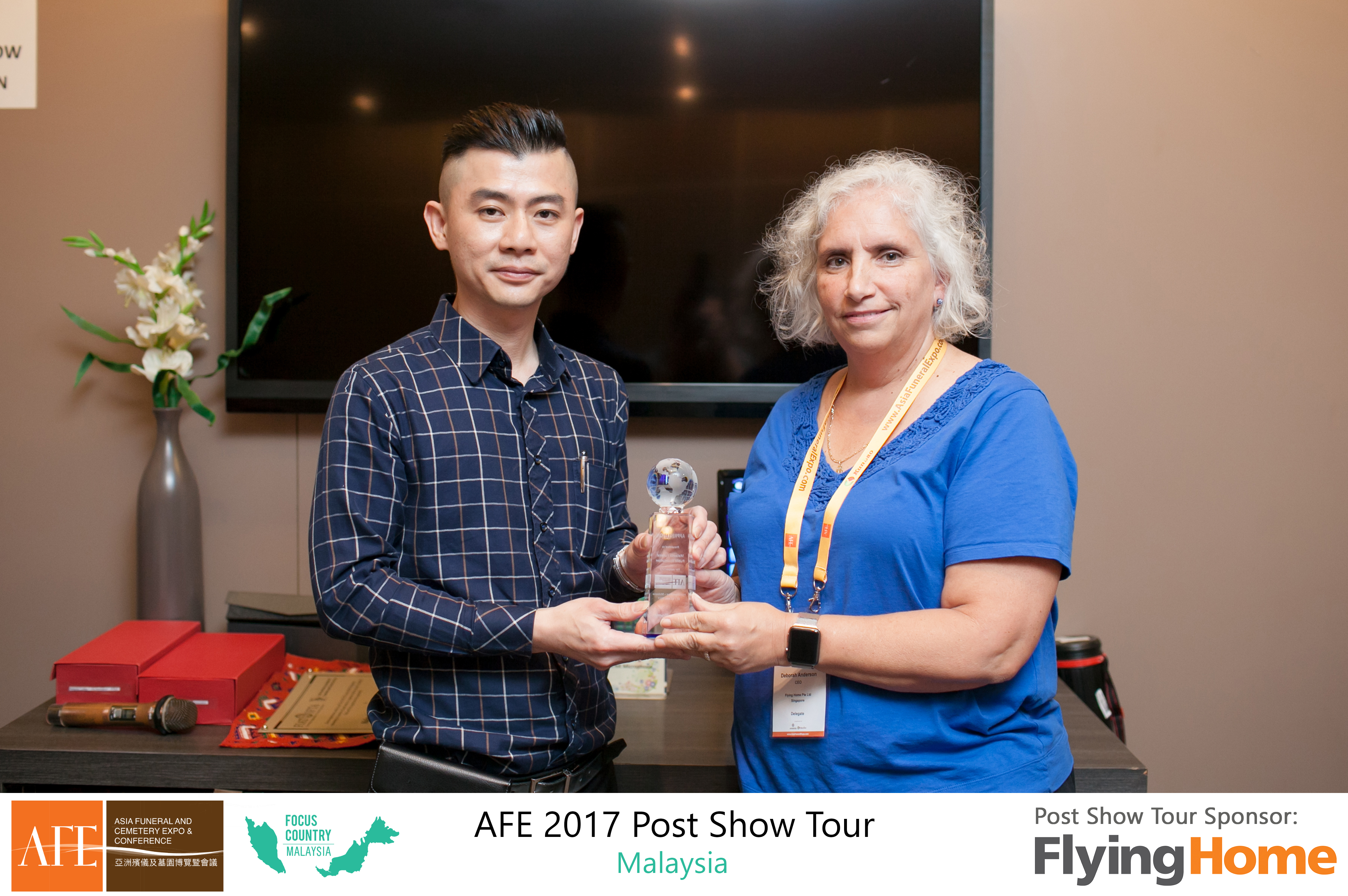 AFE Post Show Tour 2017 Day 1 - 18