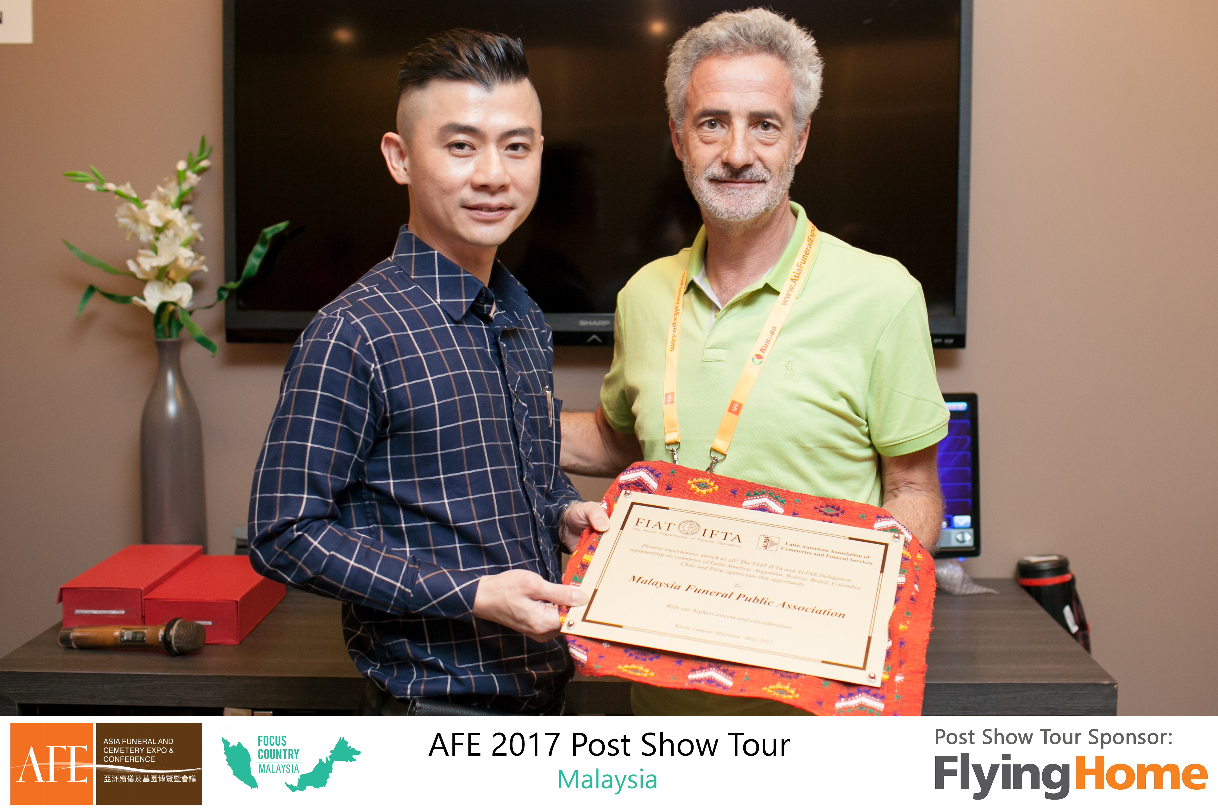 AFE Post Show Tour 2017 Day 1 - 19