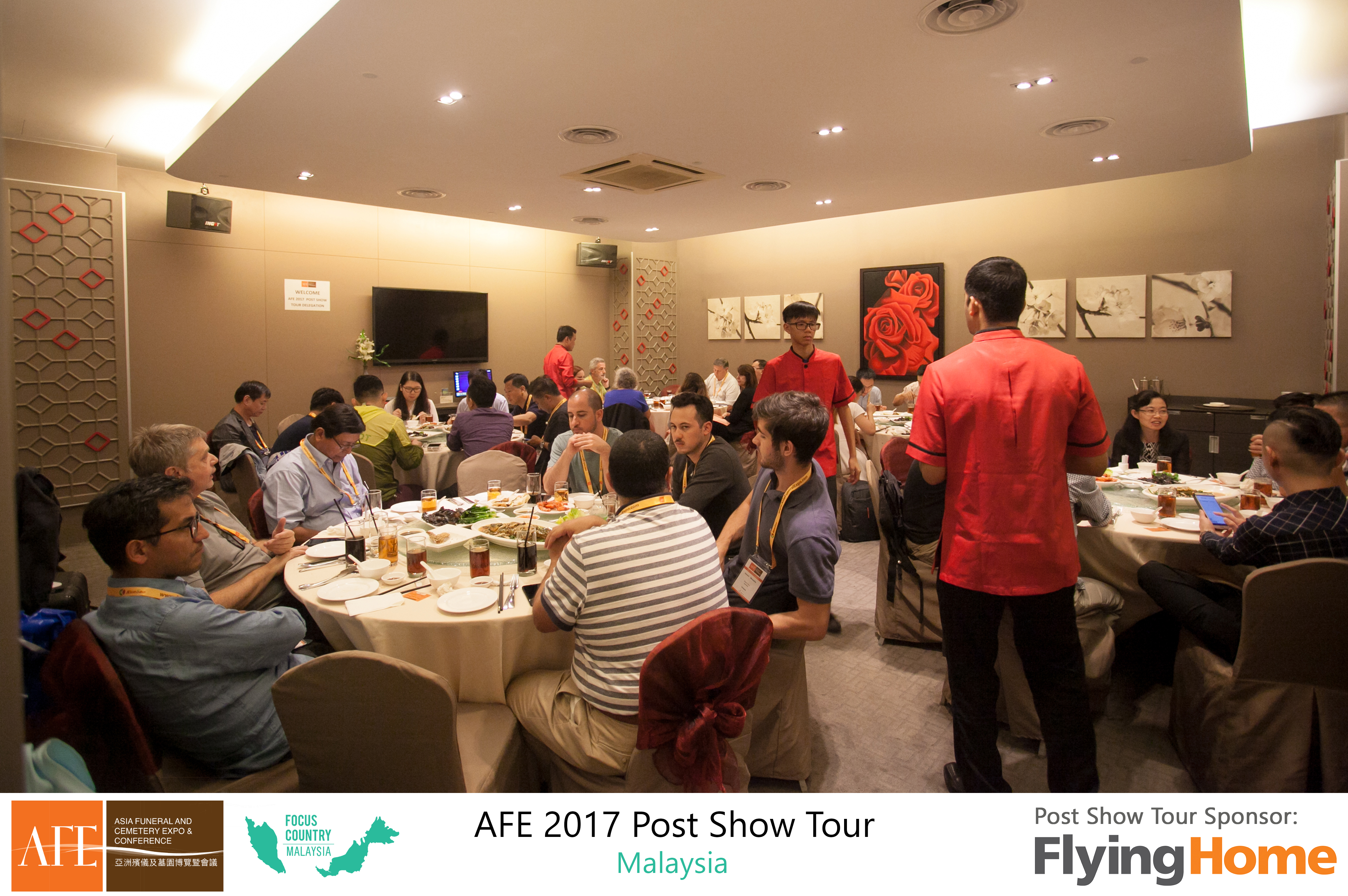 AFE Post Show Tour 2017 Day 1 - 20