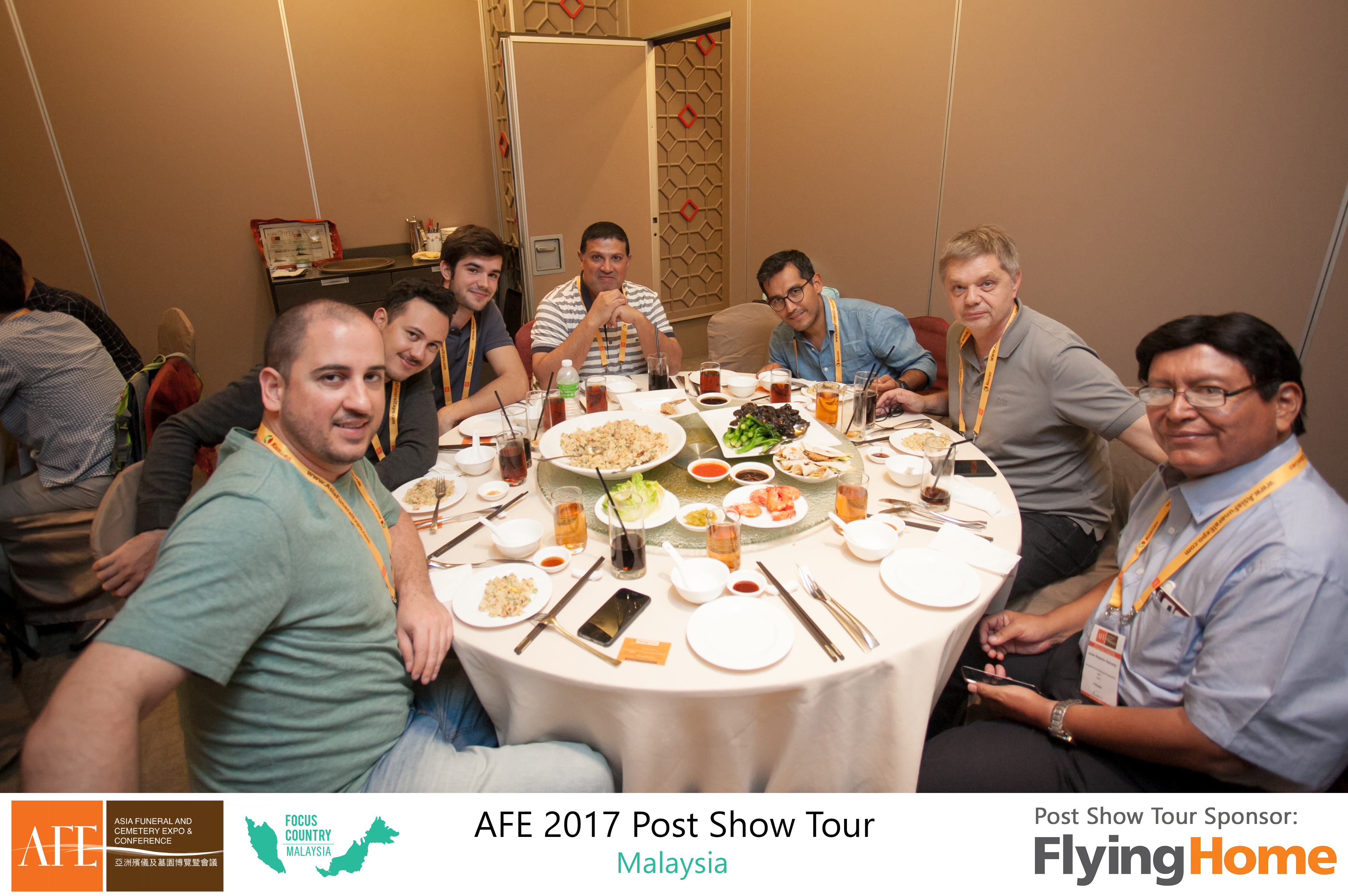 AFE Post Show Tour 2017 Day 1 - 21