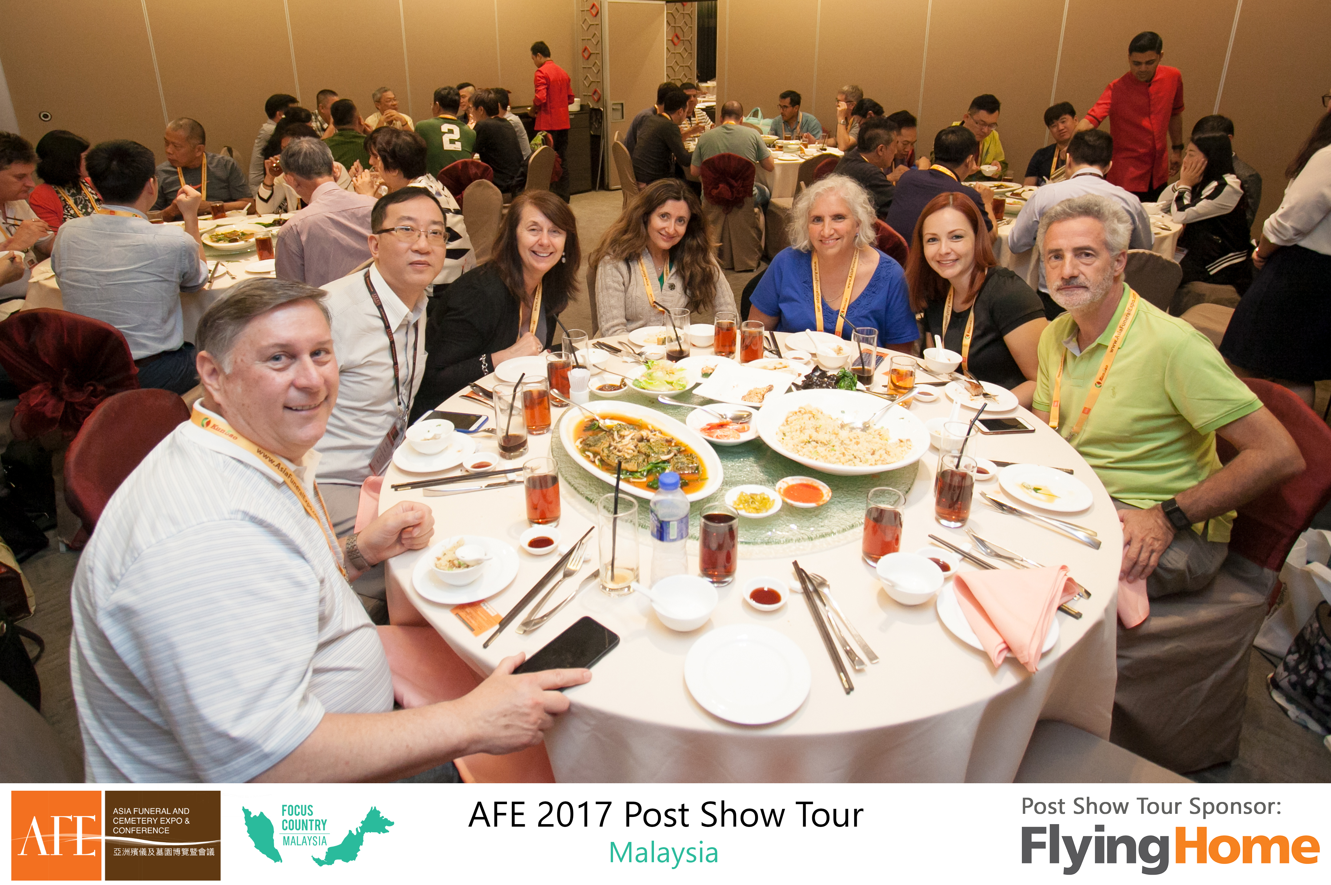 AFE Post Show Tour 2017 Day 1 - 23