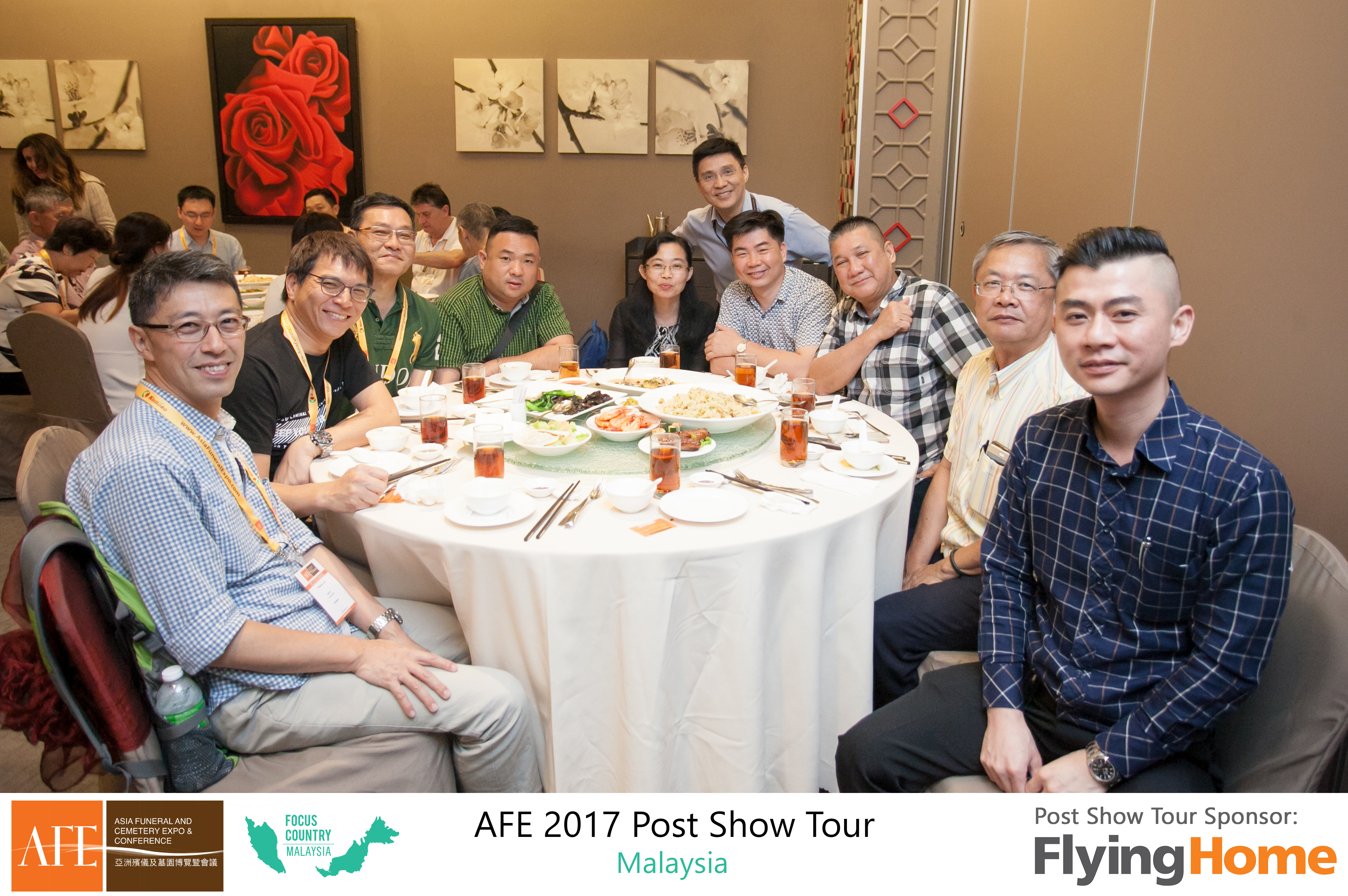 AFE Post Show Tour 2017 Day 1 - 25