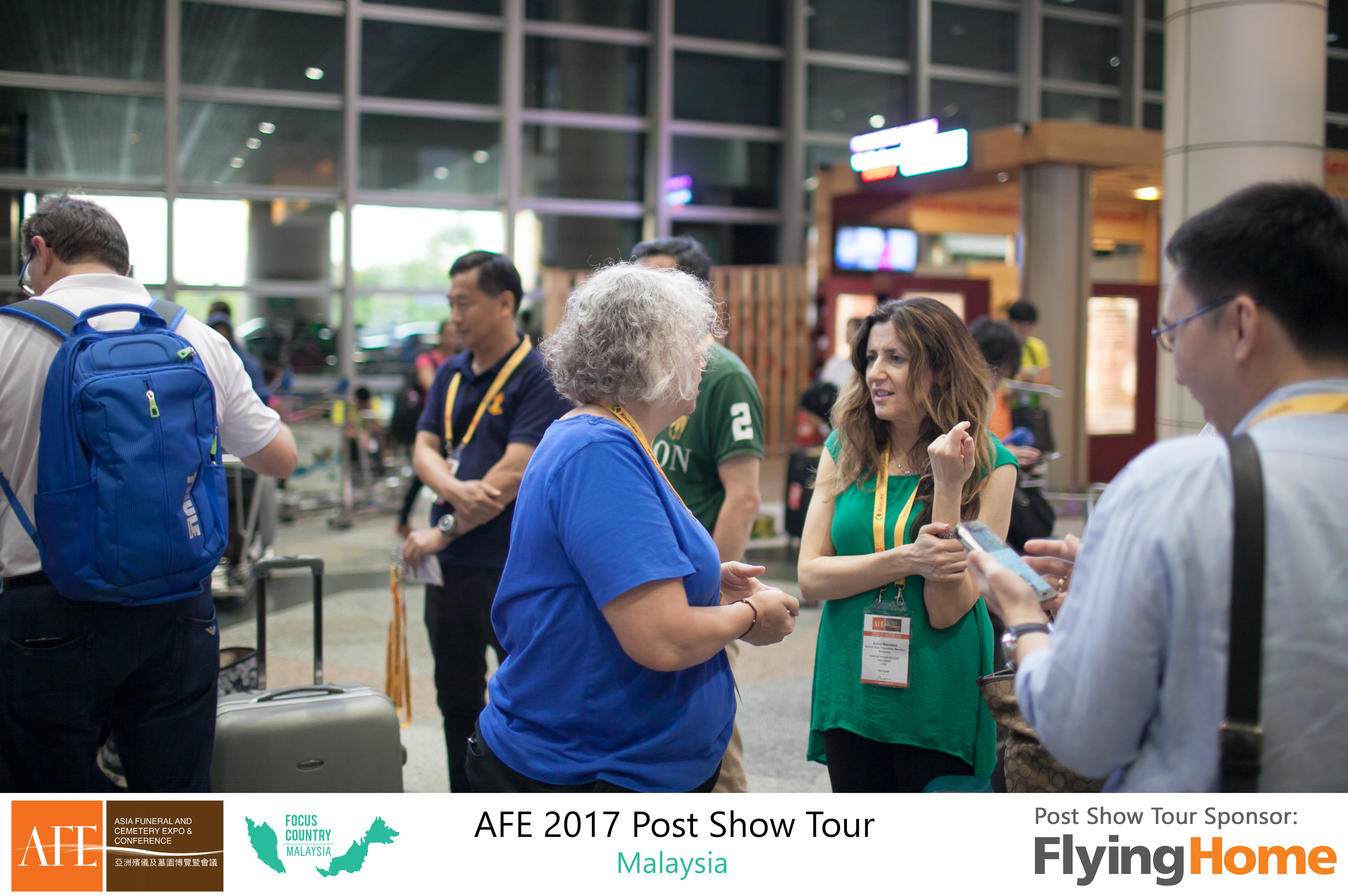 AFE Post Show Tour 2017 Day 1 - 30