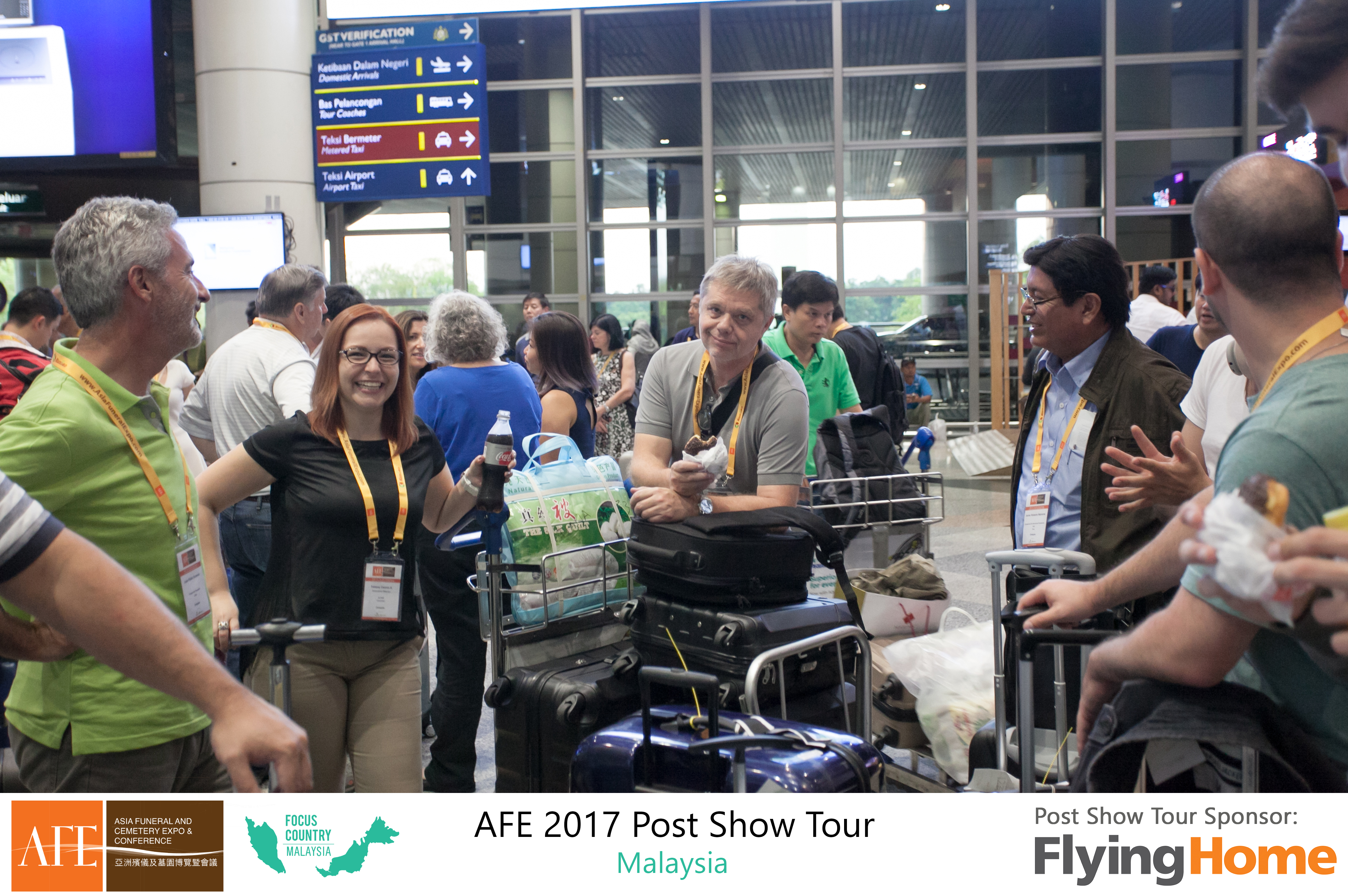 AFE Post Show Tour 2017 Day 1 - 32