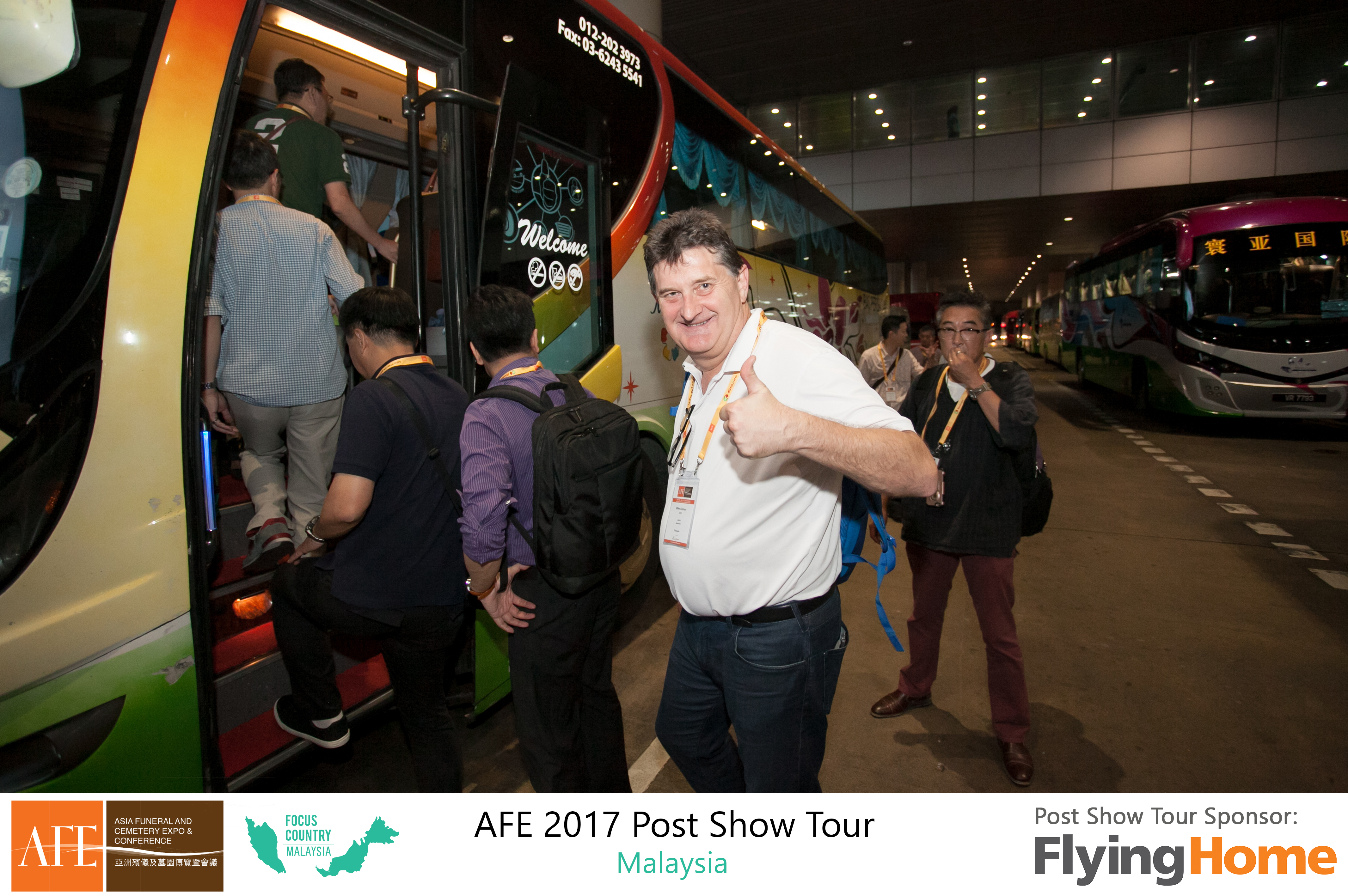 AFE Post Show Tour 2017 Day 1 - 33