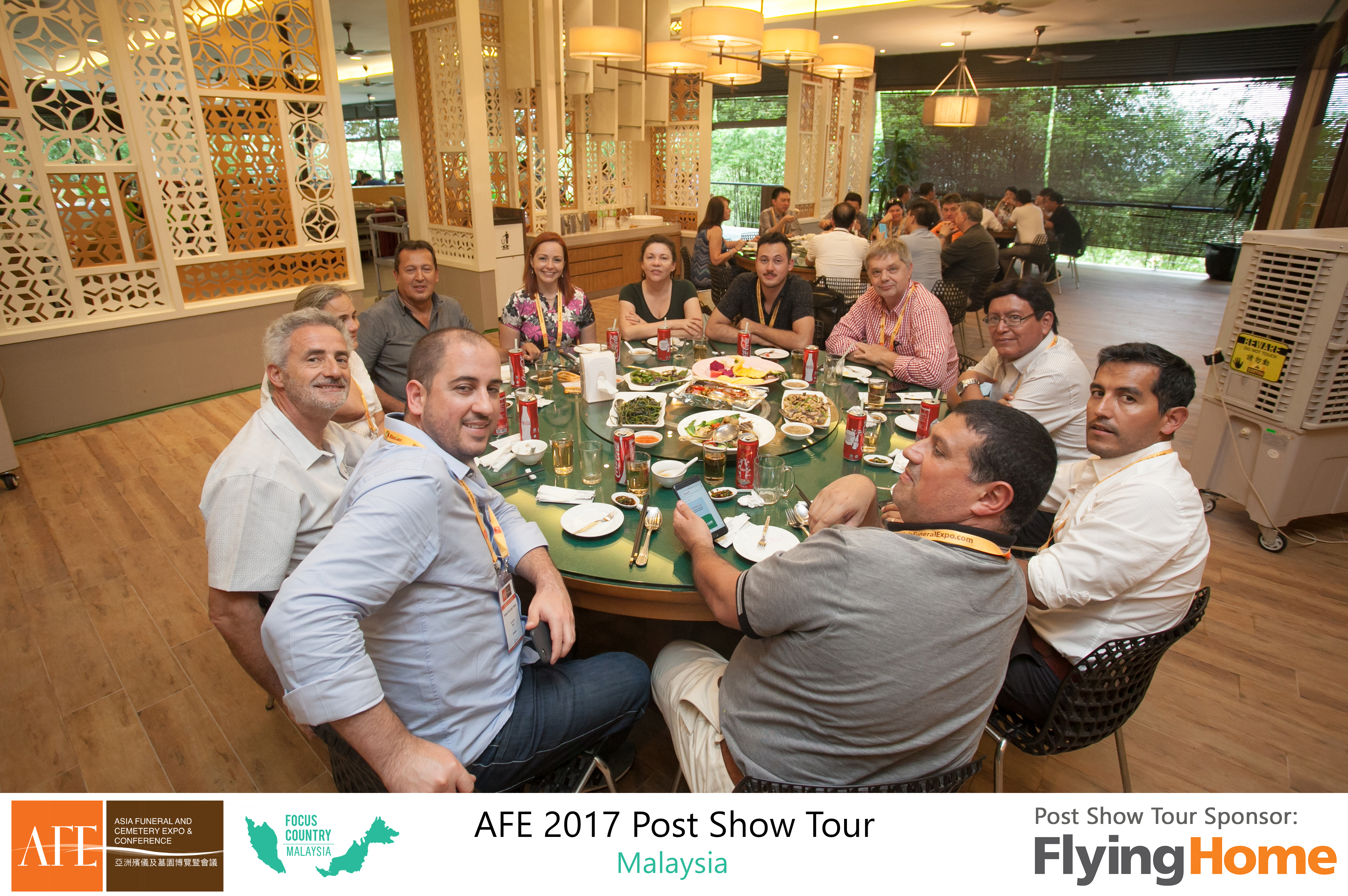 AFE Post Show Tour 2017 Day 2 - 14