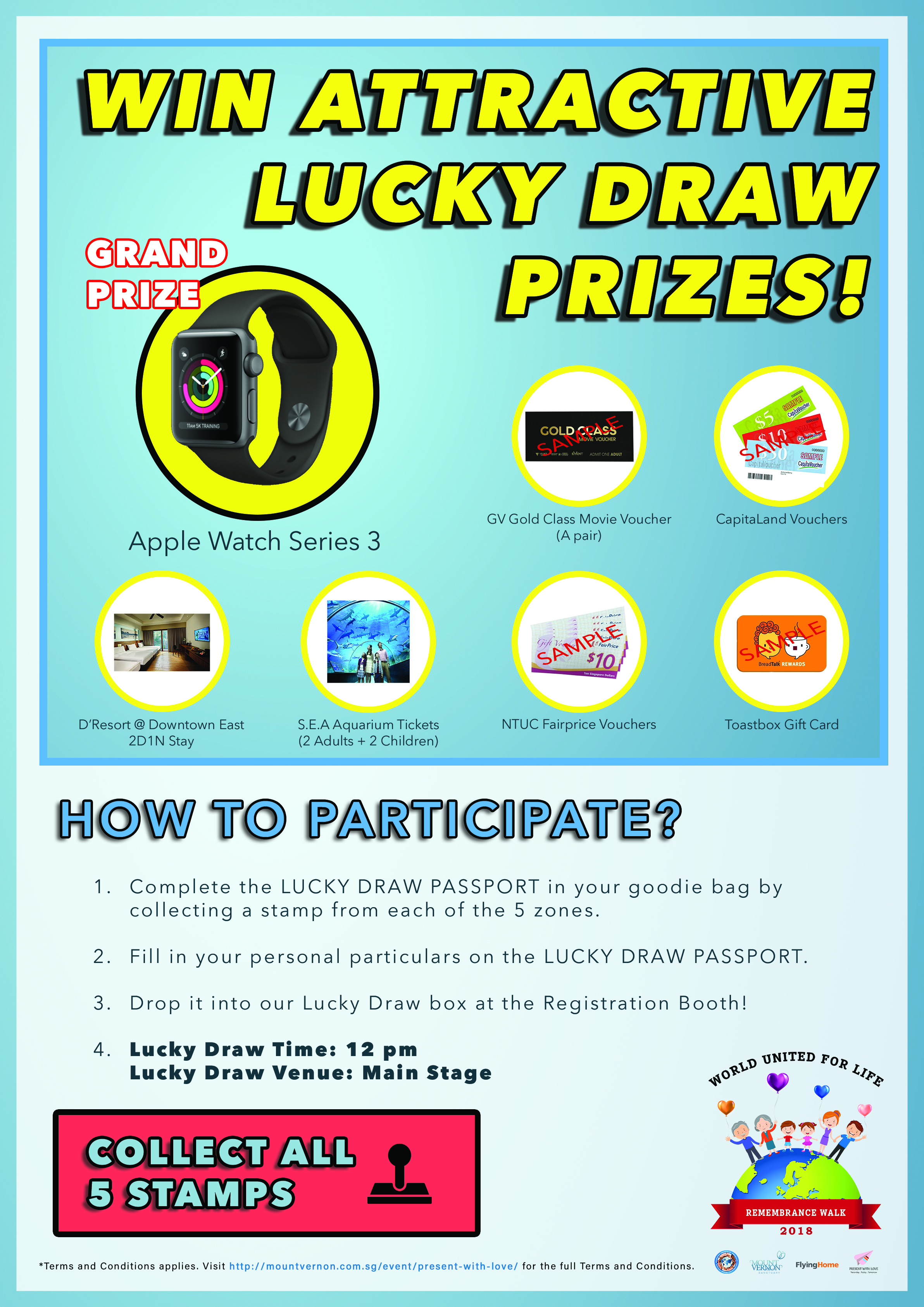 World United For Life Lucky Draw
